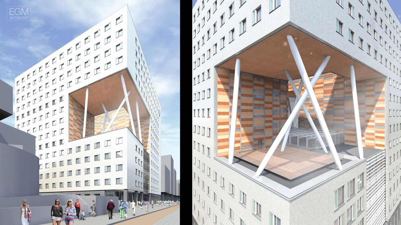 Referenties publicaties o2 vu amsterdam egm architecten - Architectuur en constructie ...